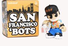 "Kid Robot San Francisco City Bots 3 "" Vinyl Figure Sealed In Box New Robot"