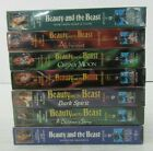 Beauty And The Beast 1987-90 TV Series LOT OF 7 VHS PERLMAN HAMILTON NEW/SEALED