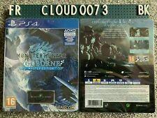Monster Hunter World Iceborne Master Limited Edition Steelbook PS4 Game UK NEW