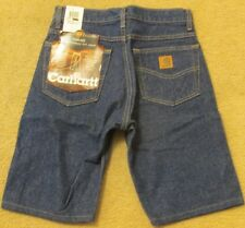 CARHARTT B18 PRW TRADITIONAL FIT DENIM SHORTS SIZE 28 NEW WITH TAGS!