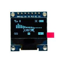 0,96 Zoll SPI Serial 128X64 OLED LCD Display SSD1306 fuer 51 STM32 Arduino Sc MU