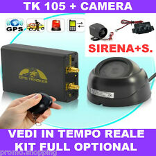 TK105 TRACKER GPS / GSM / GPRS LOCALIZZATORE SATELLITARE ANTIFURTO AUTO MOTO 103
