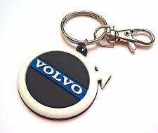 Volvo keyring XC90 XC60 XC70 S60, rubber keychain light PVC key holder