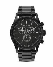 NIXON Sentry Chrono All Black - Armbanduhr