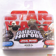 Star Wars Galactic Heroes Clone Trooper and  Dwarf Spider Droid 2 figure pack
