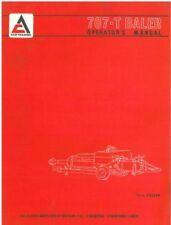 ALLIS Chalmers Baler 707-t operatori manuale