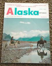 Vintage Alaska Sportsman Magazine April 1964