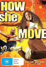 HOW SHE MOVES Nina Dobrev Rutina Wesley DVD R4 PAL