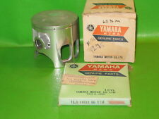 Yamaha Yz175 1976 Piston + Ring 65.96 Std. Oem
