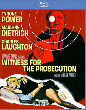 Witness for the Prosecution New Blu-Ray Billy Wilder Marlene Dietrich