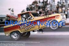 "Doug Nash ""Bronco Buster"" Ford Bronco NITRO Funny Car ""Wheels UP"" PHOTO!"