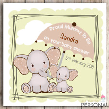 Personalised Cute Baby Shower Card Friend Sister Colleague Daughter Mummy To Be