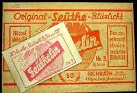 Rarität! -Seuthelin Beutelblitz Nr.3 ca.1930 Blitzlichtpulver - Zeitgeschichte