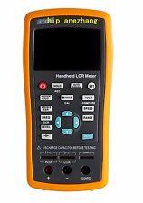 Handheld LCR Meter L/C/R/Z/X/D/Q/θ/ESR/DCR 100/120/1K/10K/40K/100KHz TFT LCD USB