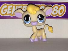 Littlest PetShop Vache Beige Etoile Jaune N°927  Pet Shop Cow