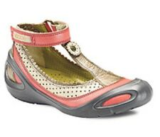 ECCO THEA Kids Girls TStrap Pink Multi Mary Jane Flats Bootie Size 29 12-12.5 A2