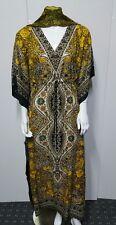 Kaftan Maxi Dress Moroccan Abaya Dubai Long Arabian Farasha Eid--- size L & XXL