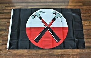 Pink Floyd Banner Flag 3x5 Crossed Hammers Another Brick in the Wall USA Shipper