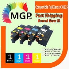 4x CM225 Toner Cartridge for Fuji Xerox Docuprint CP116w CP225w CM225fw