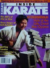 RARE 4/95 INSIDE KARATE MAS OYAMA JOHN GUMBOC KYOKUSHINKAI  KUNG FU MARTIAL ARTS