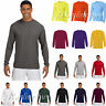 A4 Men's Long Sleeve Cooling Performance Polyester Crew Neck Shirt N3165