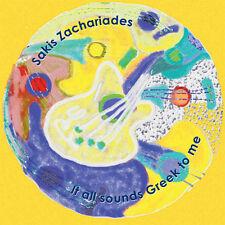 Sakis Zachariades-All Sounds Greek To Me Satriani, Vai, Malmsteen,Fusion,Guitar