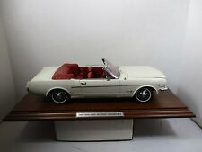 LOOSE 1/12 SCALE DANBURY MINT MUSEUM MASTERPIECE 1964 1/2 FORD MUSTANG #221