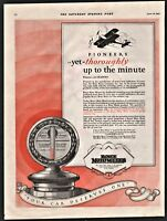 1927 BOIYCE MOTOMETER Antique Car Radiator Cap Vintage PRINT AD