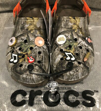 NEW! Luke Combs X Crocs Real tree  Clog, Camo, Men's Size 10, RARE!