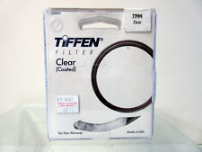 New Tiffen 77mm Clear Filter 77CLR