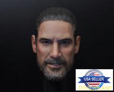 1/6 Negan Head Sculpt The Walking Dead For Hot Toys Phicen Male Figure ❶USA❶