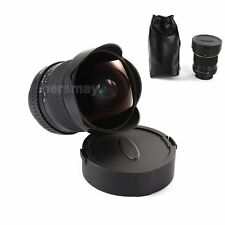 8mm f/3.5 Super Wide Angle Aspherical Fisheye Lens For Nikon D7200 D810A D750 D1