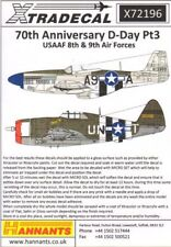 Xtradecal 1/72 D-Day 70th Anniversary June 1944 Pt.3 US Army 8th & 9th Air Force