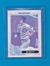 KRIS BRYANT 2017 Topps Gypsy Queen Gum Back Missing Blackplate Variation #1 Cubs