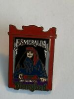 DIsneyland 1998 Attraction Series Esmeralda The Fortune Teller Disney Pin (B9)