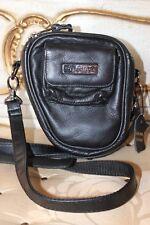 FUJIFILM Black Super Soft Genuine Leather  Camera Bag NEW
