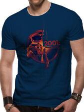 2001: A Space Odyssey Human Error HAL 9000 Movie Poster Blue Men Tshirt