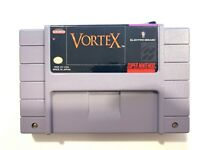 VORTEX - Super Nintendo SNES Game Tested + Working & Authentic!