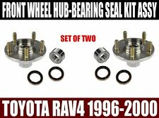 Front Wheel Hub Bearing and Seal Assembly Kit for Toyota Rav4 1996-2000 PAIR TWO