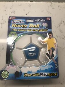 New In Box - As seen on TV Lighted Hover Ball the Indoor ball that glides!