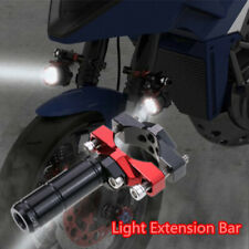 1x Motorcycle External Bracket Branch Head Spot Light Mount Extension Bar Holder