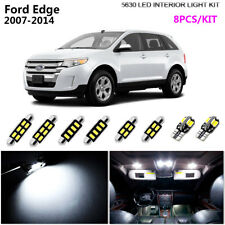8Bulb LED HID Super White 6000K Interior Dome Light Kit Fit 2007-2014 Ford Edge