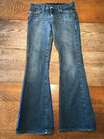 Lucky Brand Dungarees Sweet n Low Stretch Denim Blue Jeans Bootcut Women's 4/27