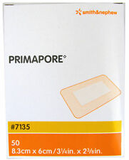 PRIMAPORE 8.3CM X 6CM BOX 50 Melolin adhesive low allergy First Aid