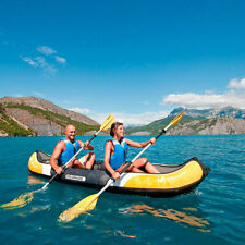 Easy Inflation Colorado Kit 2 Person Inflatable Kayak Boat with Backpack System