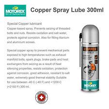 MOTOREX Copper Spray Lubricant 300ml - Made in Switzerland - Authorized Dealer