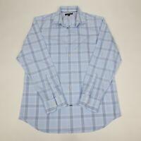 Banana Republic Men's Size L Button Down Shirt Slim Fit Long Sleeve Non-Iron