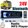 1 din Autoradio bluetooth Stereo Integrato Testa Unità Lettore MP3 USB SD Aux-In