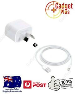 GENUINE Wall Charger + Lightning Cable For Apple iPhone 5 6 7 8 X XR XS AU STOCK