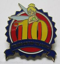 Disney Pin Trading 10th Anniversary Tinker Bell Only Pin